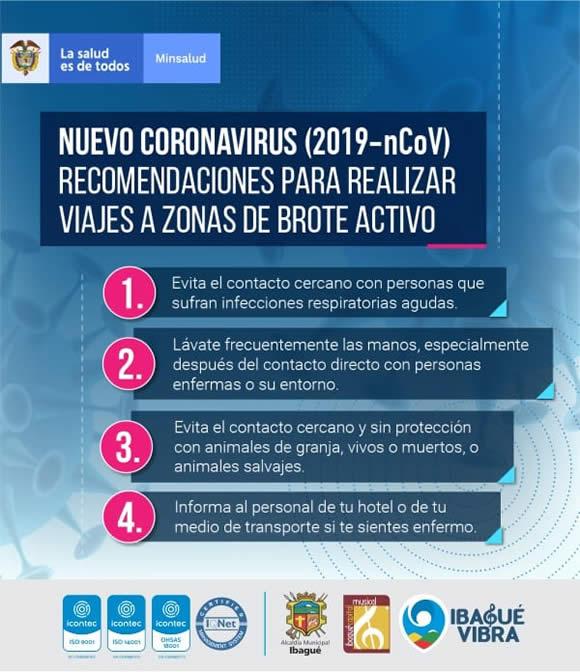 Recomendaciones especiales para prevenir el Coronavirus 11