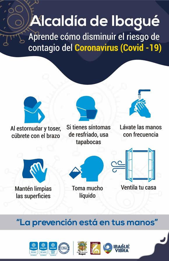 Recomendaciones especiales para prevenir el Coronavirus 19