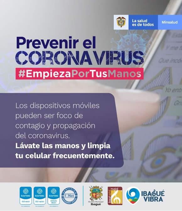 Recomendaciones especiales para prevenir el Coronavirus 4