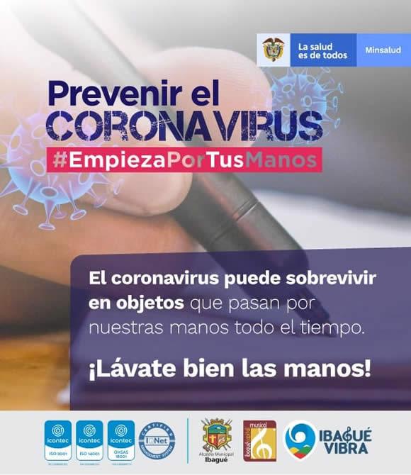 Recomendaciones especiales para prevenir el Coronavirus 6