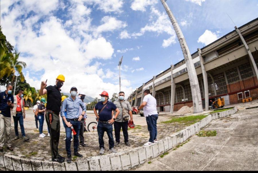 Empezaron obras de adecuación del estadio Manuel Murillo Toro. 2
