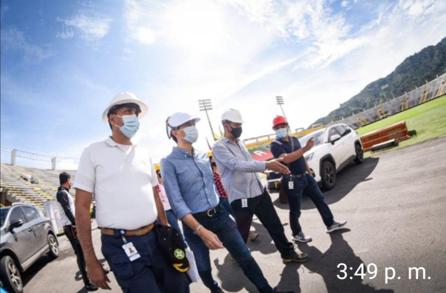 Empezaron obras de adecuación del estadio Manuel Murillo Toro. 1
