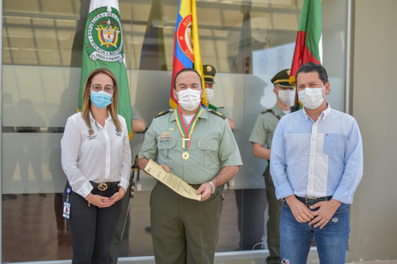 Alcaldía de Ibagué exaltó la labor de la Policía Nacional en sus 129 años 1