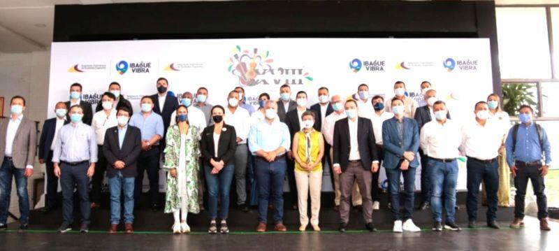 Con éxito se llevó a cabo la XVIII Cumbre de Asocapitales en Ibagué 2