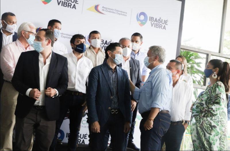 Con éxito se llevó a cabo la XVIII Cumbre de Asocapitales en Ibagué 1