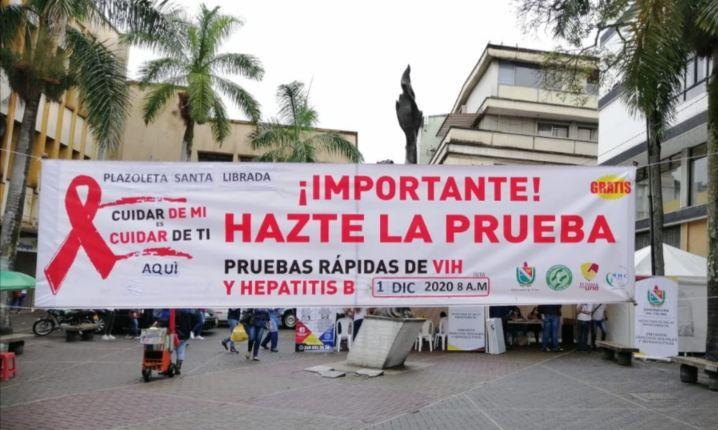 Secretaria de Salud Departamental conmemoró el Día Mundial contra el SIDA 1