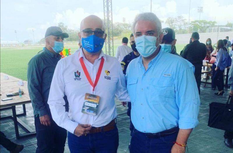 Ministerio de Salud exaltó la labor del gobernador, Ricardo Orozco, por el manejo adecuado del COVID-19. 1