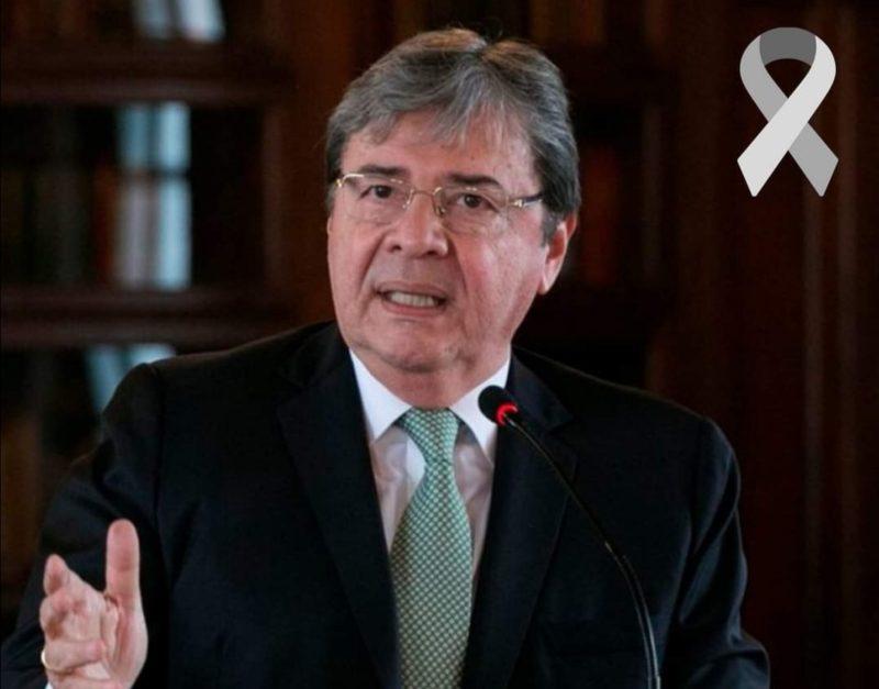 Última hora: Falleció el Ministro de la Defensa Carlos Holmes Trujillo. 1