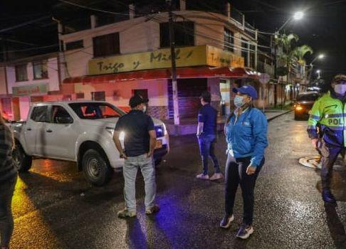 50 comparendos han sido impuestos durante el toque de queda general en Ibagué 1