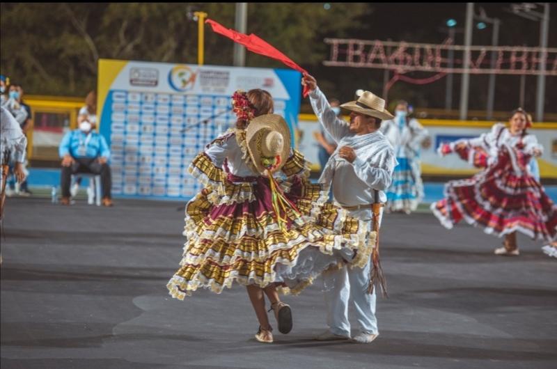 La cultura Ibaguereña también hace parte del Panamericano de Patinaje. 1