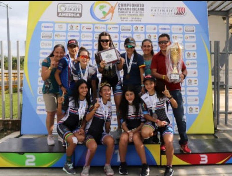 Ibagué y el Tolima los campeones del Panamericano de Patinaje 2021. 2