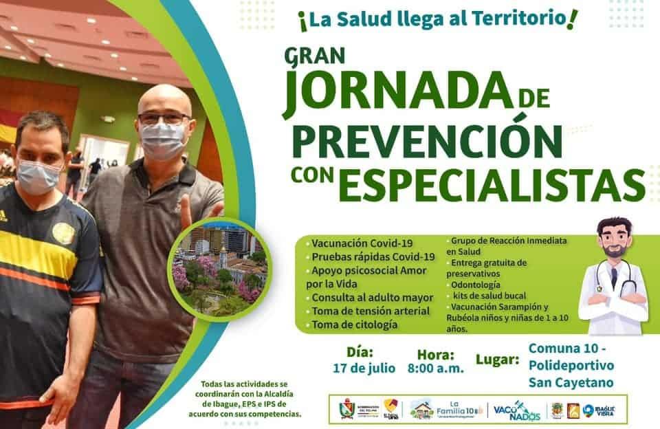 *La prevención con especialistas llega a la Comuna 10* 1