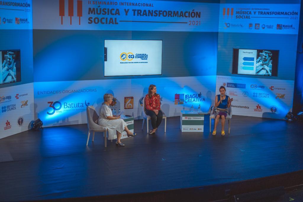 Avanza en Ibagué la agenda del II Seminario Internacional de Música y Transformación Social. 1