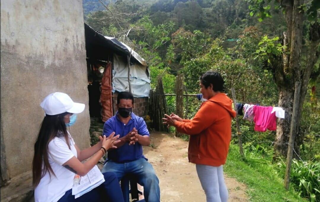 Entornos saludables visitó las familias de Santa Isabel 1