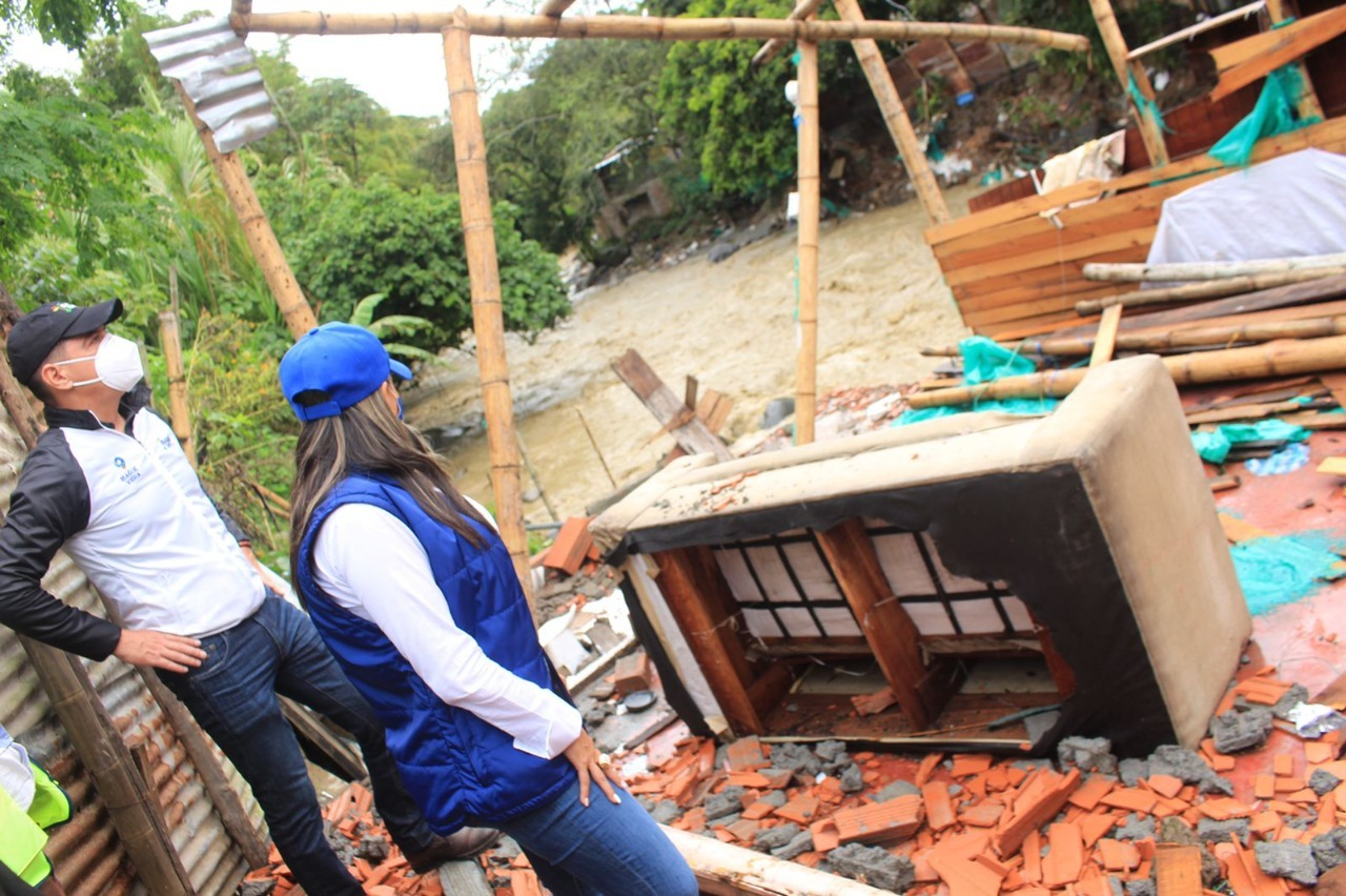 Para atender afectados por lluvias, se adelantará brigada de salud en el barrio Industrial. 1