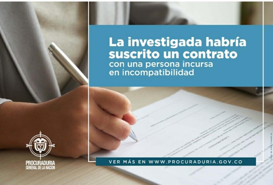 Procuraduria formuló cargos contra alcaldesa de Rioblanco Tolima. 1
