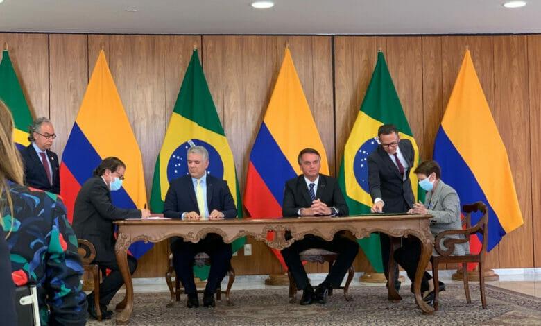 Ministerios de Agricultura de Colombia y Brasil firman Memorando de Entendimiento para trabajar en la producción agropecuaria, desarrollo competitivo y sostenibilidad 1
