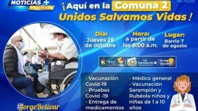Acciones en salud para salvar vidas llega a la Comuna 2 en Ibagué. 2