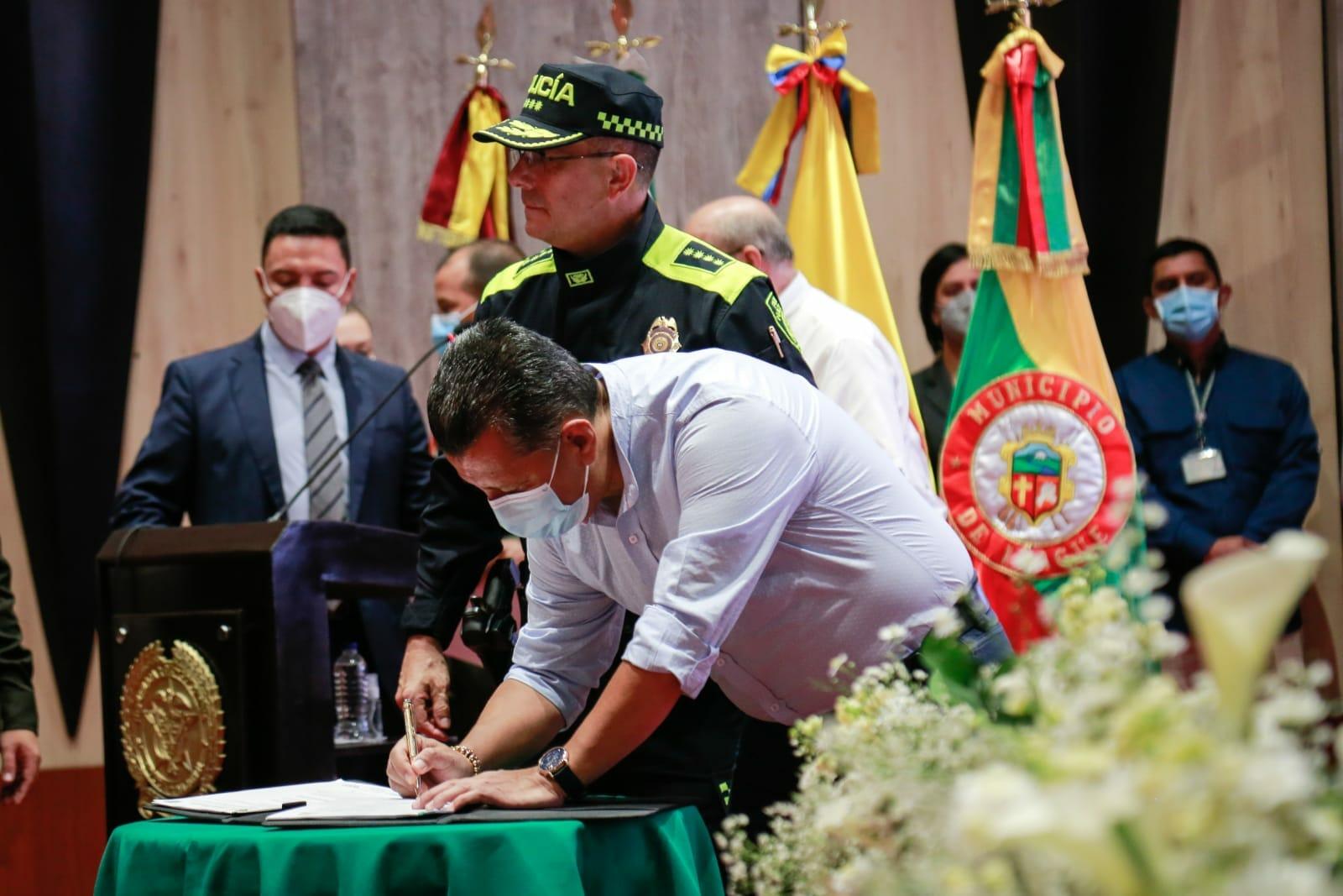 *Alcalde de Ibagué y Gobernador del Tolima anunciaron varias inversiones para la Capital Musical* 1
